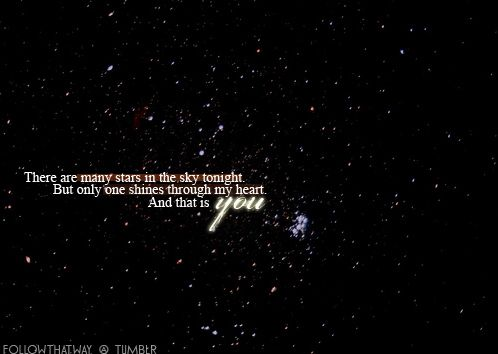 Quotes About Love And Stars Photo One Star Love Sayings Stars