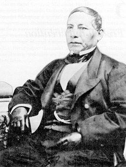 Benito Juárez. Museo Casasola. Historia 1810-1938