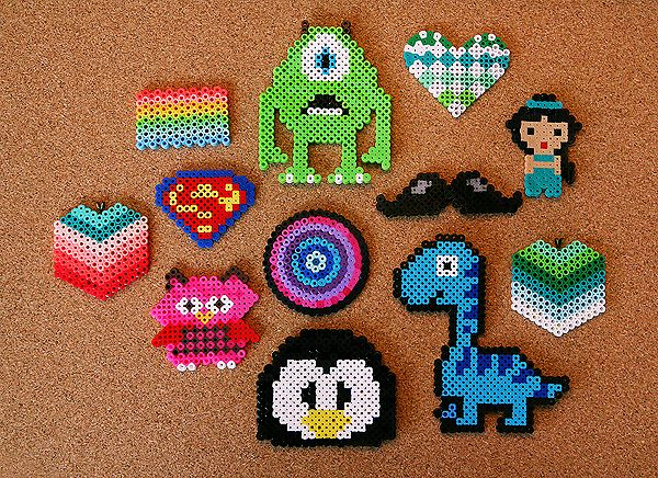 Perler Beads Jewelry Tutorial