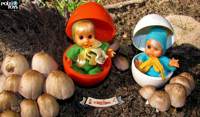 Bean dolls by Polfi Toys by El Greco Fanatic, via Flickr