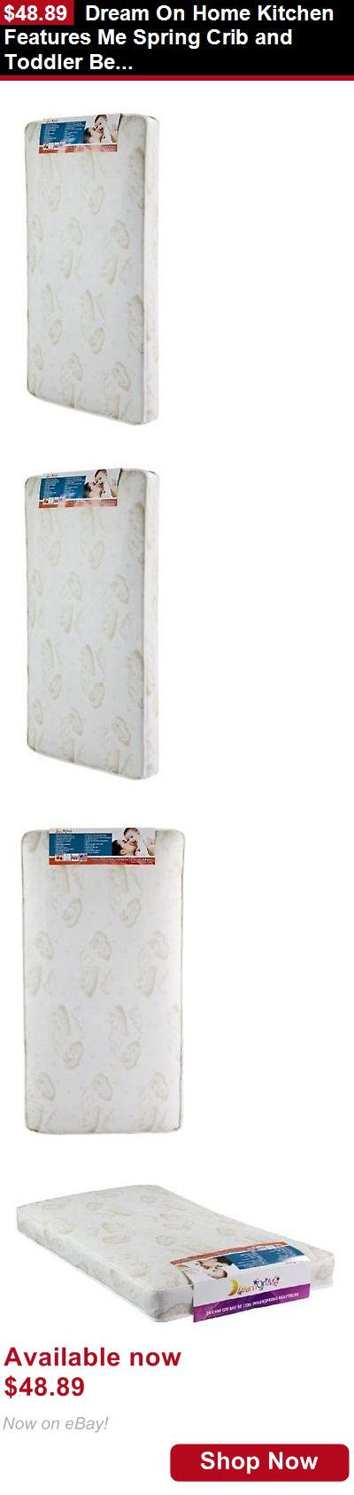 Mattress Pads And Covers: Dream On Home Kitchen Features Me Spring Crib And Toddler Bed Mattress, Twilight BUY IT NOW ONLY: $48.89