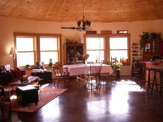 36 best yurt dreaming images on pinterest for Yurt interior designs