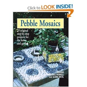 Tree Collar Pebble Mosaics: 25 Original Step-by-Step Projects for the Home and Garden: Pebble Mosaics, Original Step By Step, Tree Collar, Mosaics Magic, Home And Garden, Mosaics Pebbles, Collar Pebble, Garden Pebbles