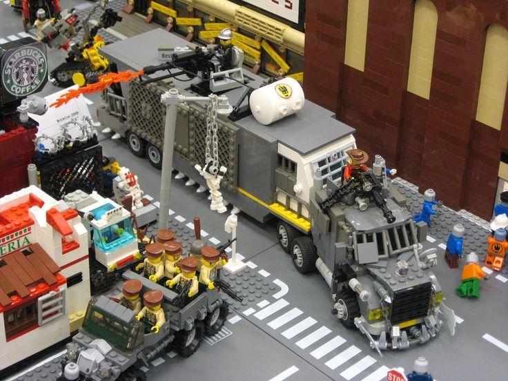 LEGO Zombie Attack Truck: