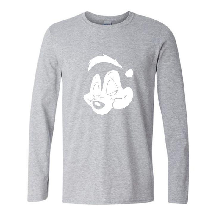 New Funny Cartoon Joking Face Cotton T Shirt Cool Novelty mens Autumn T Shirt DIY Men Newest Brand Tees #Affiliate