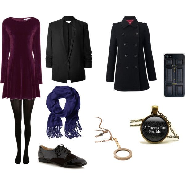 Sherlock Inspired Outfit