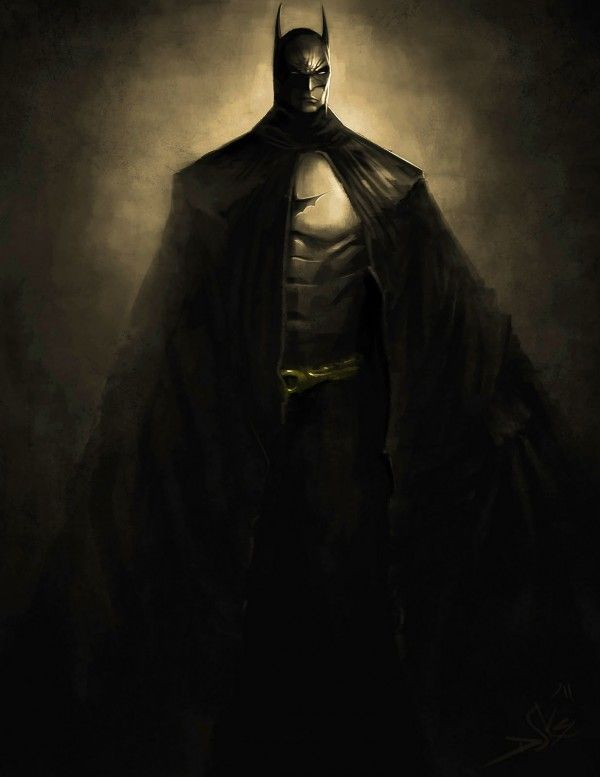 #SpeedPainting : #Batman The #DarkKnight Rises #Design