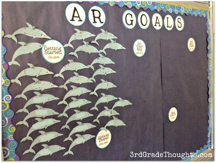 I don't do accelerated reader. I would use this type of idea for personal goals