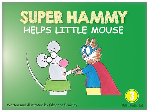 Super Hammy and Little Mouse go out looking for adventure.