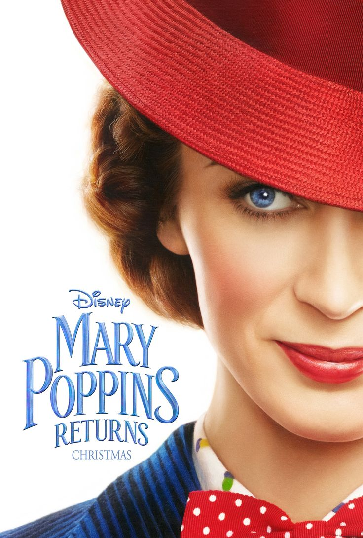 mary poppins returns teaser poster and trailer available now! Movie comes out in December 2018.