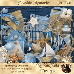 Seaside Memories Elements Preview