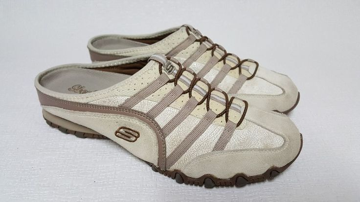 Womens Skechers Bikers Fixate Casual Shoes 21674 / Ofwt Size 10  #SKECHERS #CasualMules