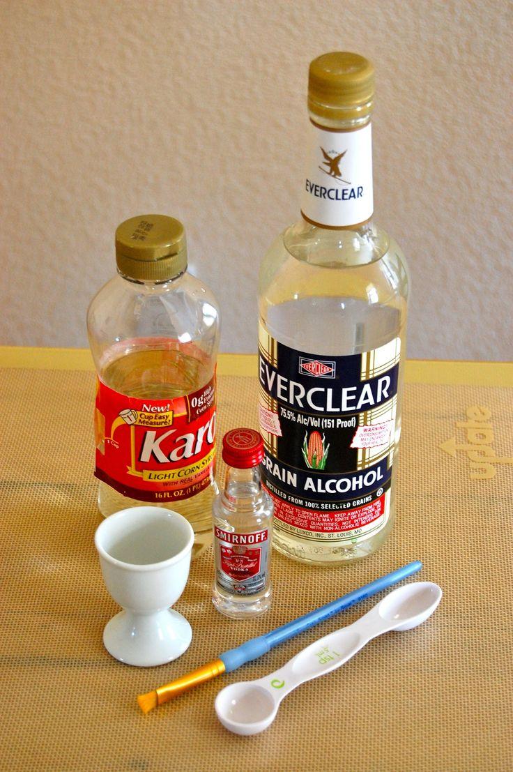 corn syrup glaze