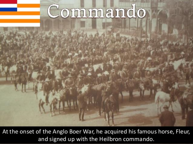 President Steyn then appointed General De Wet as Commander of the Orange Free State Forces.