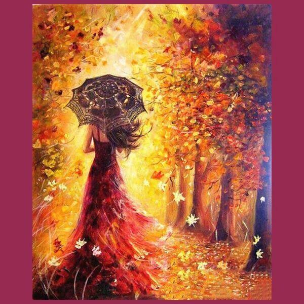 Pin Von Dominique Auf Autumn Diy Malen Nach Zahlen Herbst Malerei Malen Nach Zahlen
