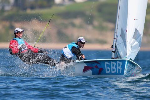 Luke Patience and Stuart Bithell Sailing (470 class) SILVER MEDAL