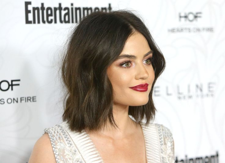 Bob hairstyles: Lucy Hale - CosmopolitanUK