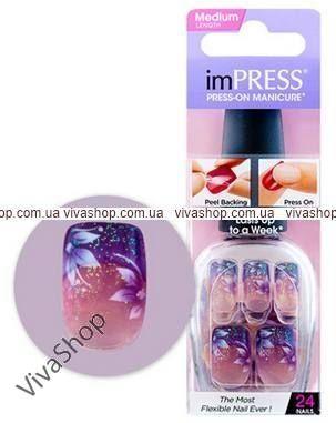 "KISS imPress Manicure ""Твердый лак"" Небольшая звезда (типси medium)"