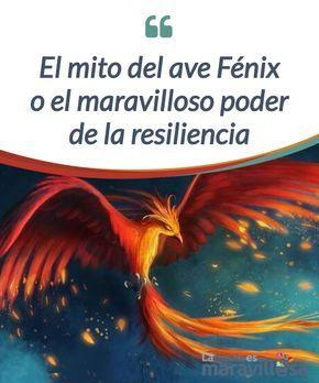 """La mito del ave Fénix o el maravilloso poder de la #resiliencia Carl Gustav Jung nos explicó en su #libro """"Símbolos de #transformación"""" que el ser humano y el ave Fénix tienen muchas #similitudes. #Psicología"""