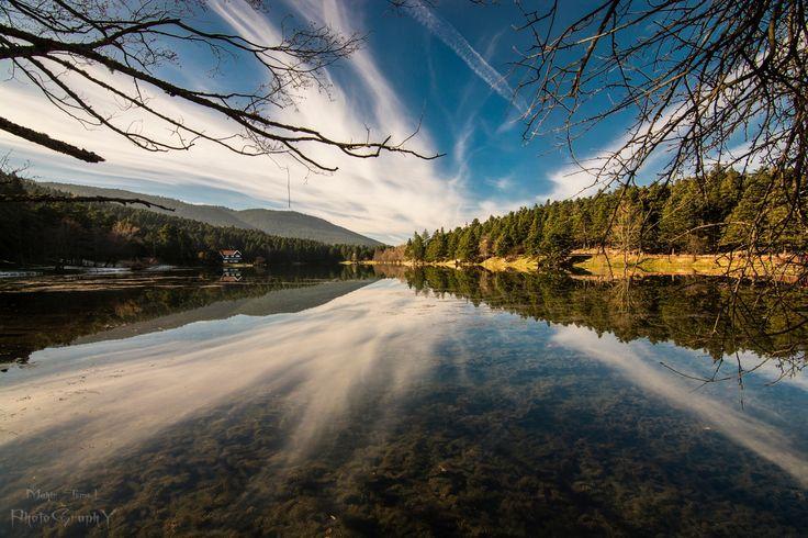 Gölcük / BOLU by Mahir Temel - Photo 185832439 / 500px.  #lake #reflections #color #water #reflection #nature #travel #blue #light #turkey #nikon #colors #photo #photos #landscapes #photograph #photography #colorful #landmark #landscape #turkiye