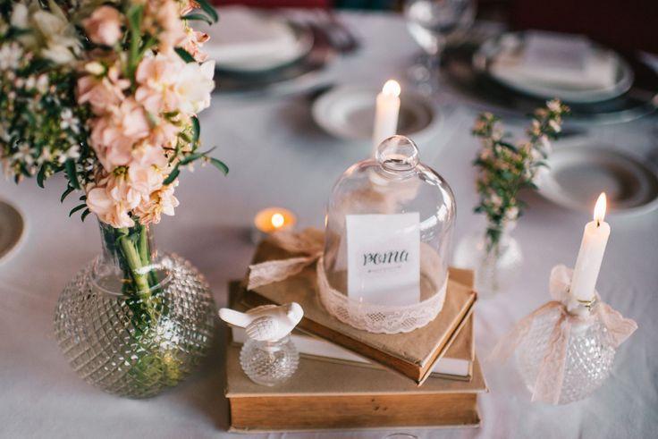 centros de mesa românticos . romantic centerpieces . vintage