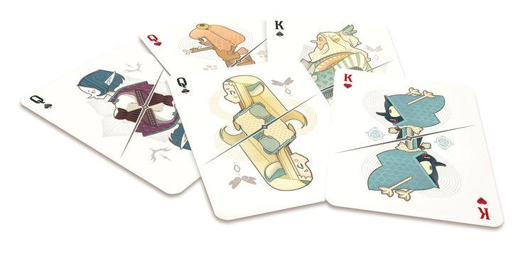 Consultez ce projet @Behance: u201cCard game design  / DOFUS Film / Livre 1 / Julithu201d https://www.behance.net/gallery/49404403/Card-game-design-DOFUS-Film-Livre-1-Julith