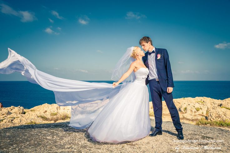 Свадьба на Кипре возле моря