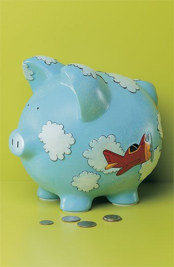 Gift Giant 'Airplane - Large' Ceramic Piggy Bank | Nordstrom