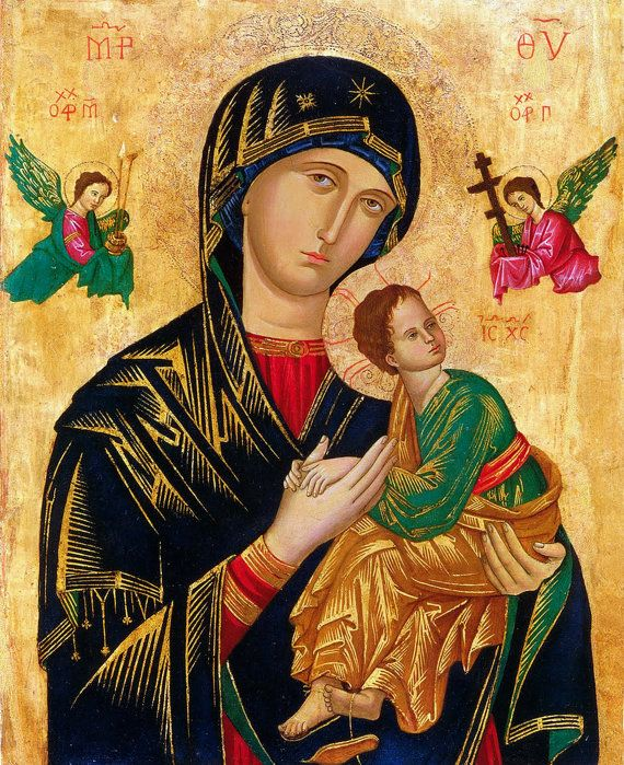 Our Lady of of Perpetual Help Blessed Virgin Mary by TanabeStudio