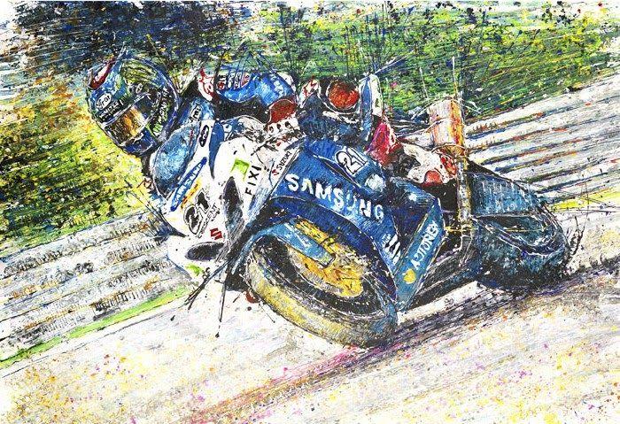 Paling Bagus 30 Gambar Lukisan Sepeda Balap Keren 25 Lukisan Ini Dibuat Pakai Mobil Remot Kontrol Menakjubkan From Www Brilio Net Gambar Lukisan Sepeda Balap