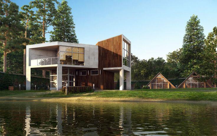 House River Amazing Renderings Of Beautiful Houses