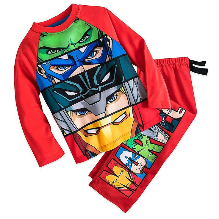 Marvel The Avengers Sleep Set Pajamas for Boys