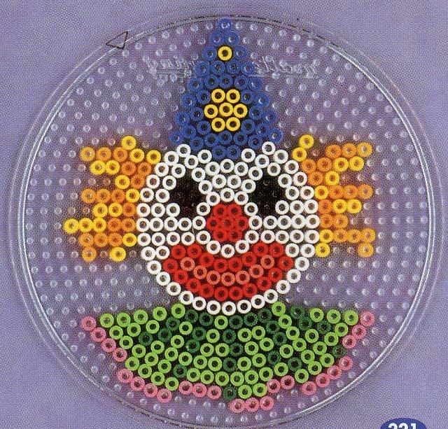 Clown hama beads - DOMINELLE DECOUPAGE - Picasa-Webalben