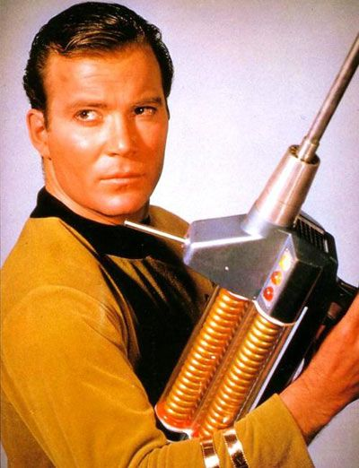 William Shatner (James T. Kirk) is Canadian :)