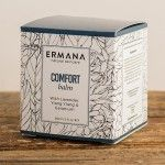 Our comfort balm is an intense hand cream made from a rich blend of natural butters. It is rich in vitamins and anti oxidants which hydrate, condition, soften and protect the skin. A versatile balm for areas in need of comfort - face, body and mind. Use on dry skin patches, chapped lips, cracked heels, elbows and knees. Softens rough, dry cuticles and hands. Massage into your wrists and temples and breathe deeply. Made from Cocoa, Shea and Coconut butters. Blended with sweet almond oil…