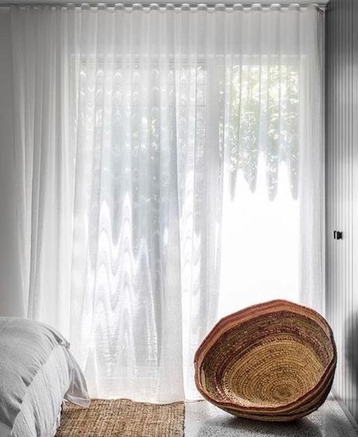 Linen Sheer Curtains, decisions!