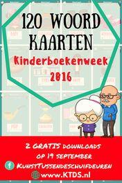 Voor altijd jong! Kinderboekenweek 2016 120 woordkaarten