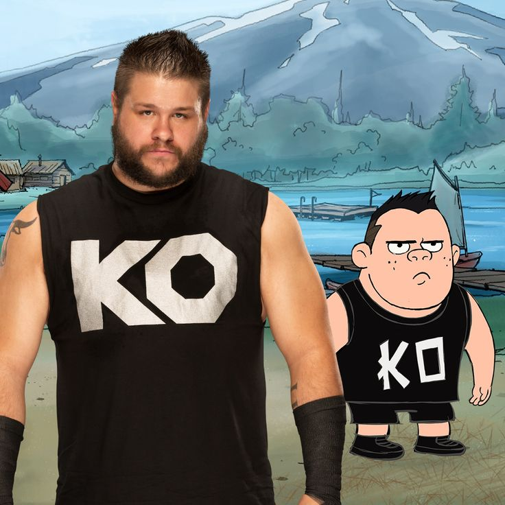 Kevin Owens is bringing the FIGHT to #CampWWE!