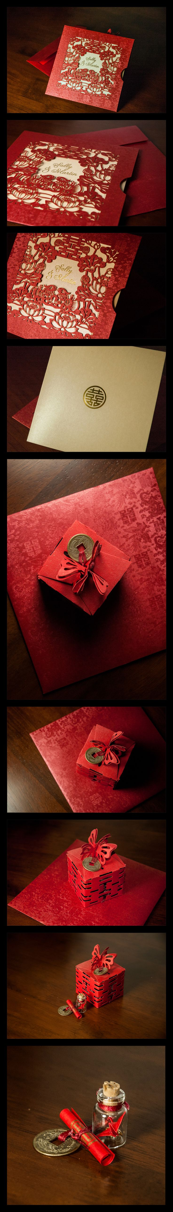 Chinese Wedding Invite & Wedding Favours                                                                                                                                                                                 More