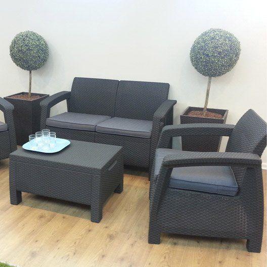 Salon de jardin corfu naterial d co maison pinterest for Casa fauteuil jardin