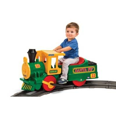 Product Image for Peg Perego Santa Fe 6-Volt Ride-On Train 4 out of