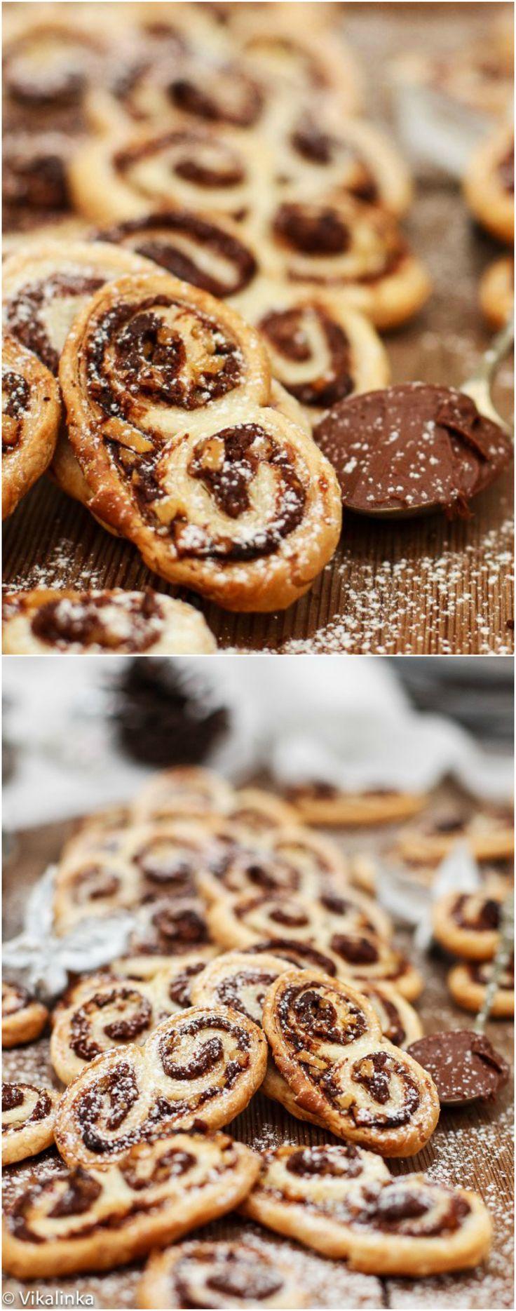 Nutella hazelnoot palmiers