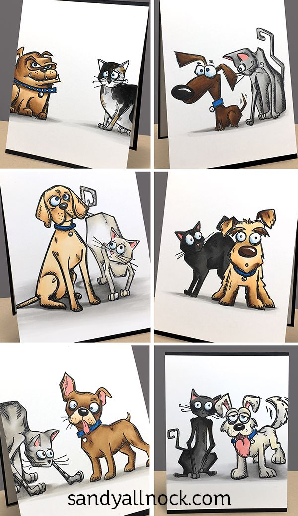 Sandy Allnock - Crazy Cats n Dogs                                                                                                                                                                                 More