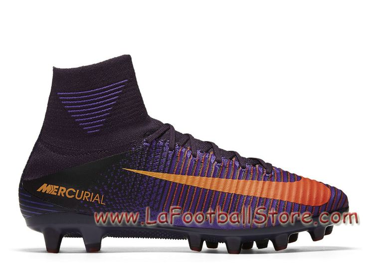 Nike Mercurial Superfly V AG-PRO Cramoisi total Chaussure Officiel Nike de  football à crampons