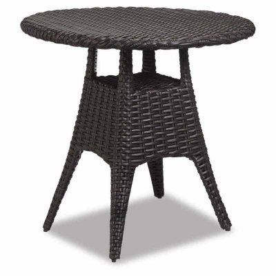 Outdoor Sunset West Cardiff Wicker 36 in. Round Patio Pub Table - 2901-PT
