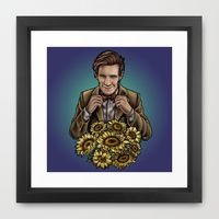 Framed Art Print featuring Bowties are cool! by Mascmallow