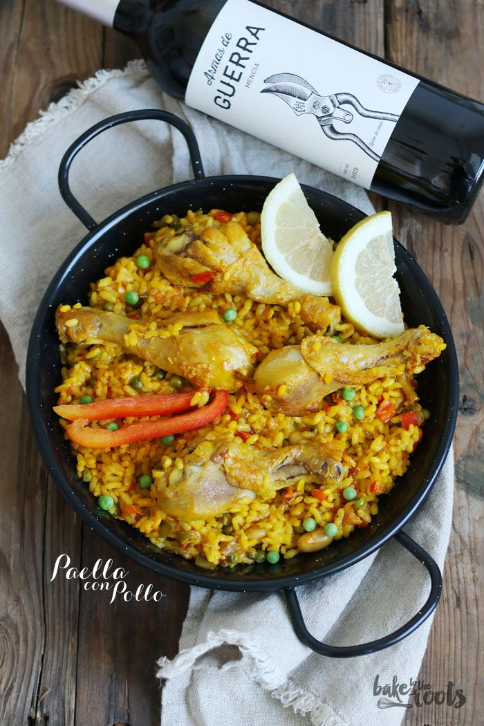 Paella con Pollo | Bake to the roots