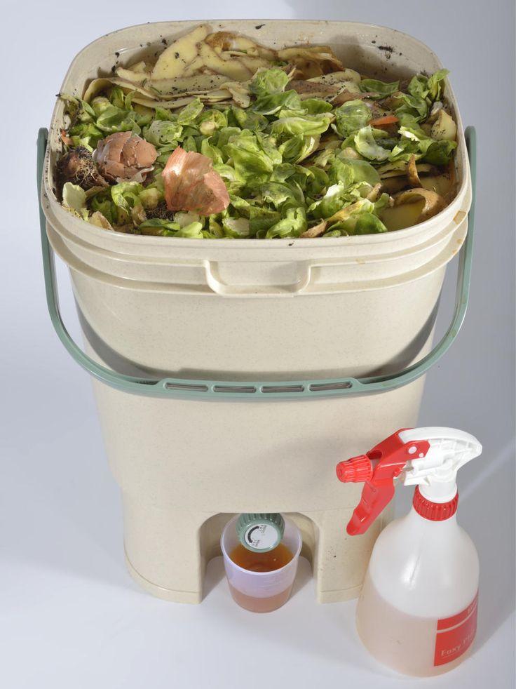 Bokashi: EM Kompost Im Eimer Herstellen