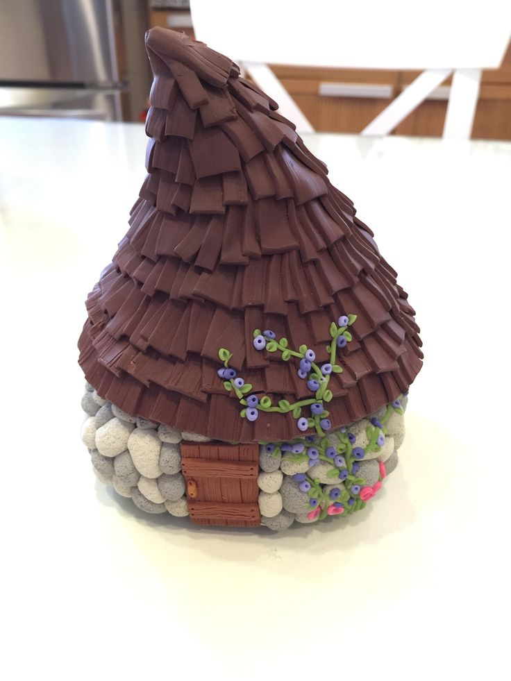 Polymer clay House