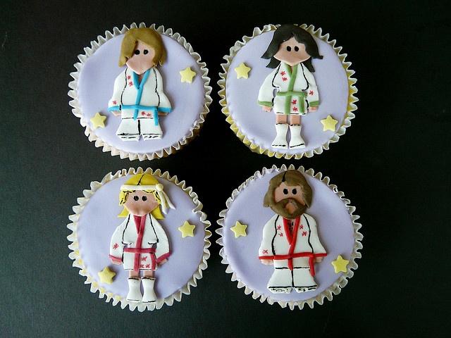 ABBA Cupcakes @Christe Alwin Alwin Smith